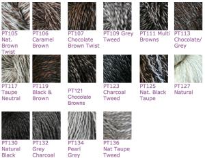 Galler Yarns Peruvian Tweed