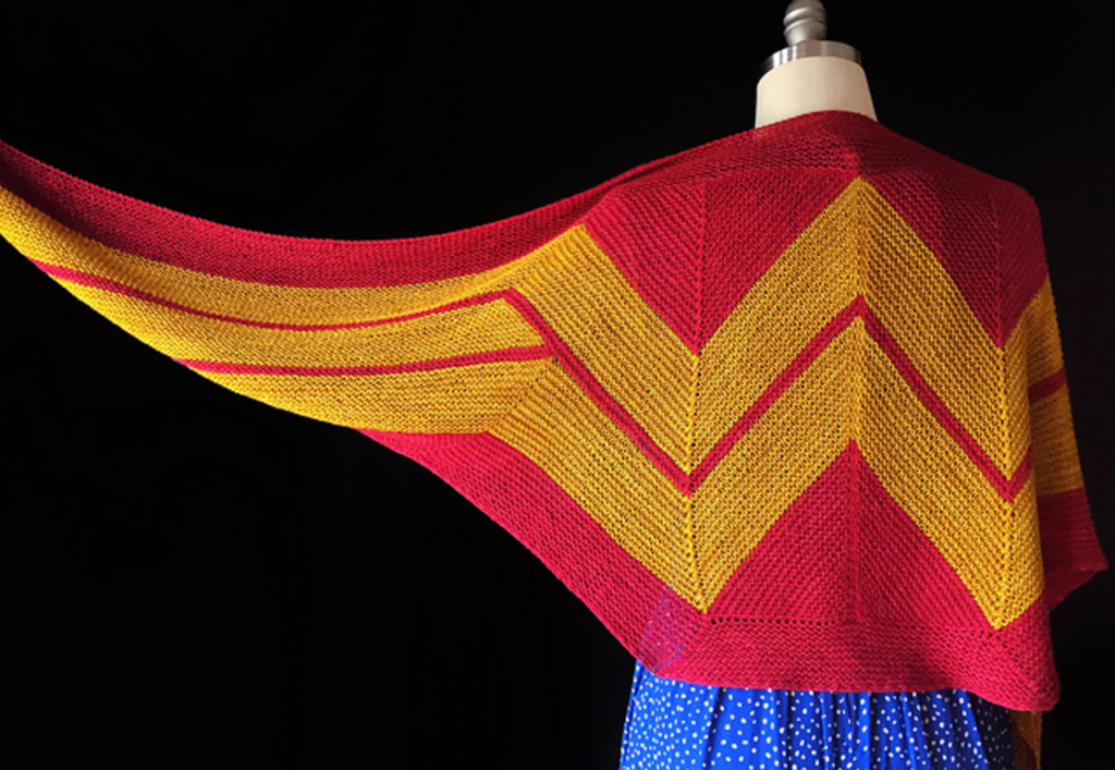 Wonder Woman Wrap