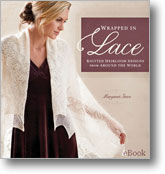 WRAPPED IN LACE KNITTING BOOK