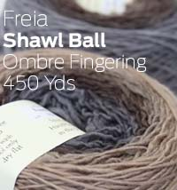 Freia Shawl Ball