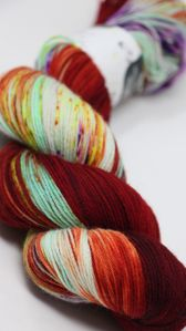Hedgehog Fibres Sock Yarn Bollywood