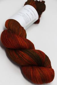 Hedgehog Fibres Sock Yarn Copper Penny