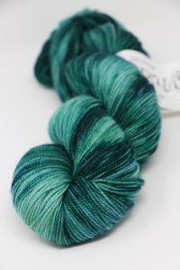 Meadowcroft Rockshelter Sock Superwash Merino Yarn in Malachite (133)