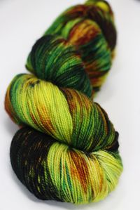 Meadowcroft Rockshelter Sock Superwash Merino Yarn in Spirogyra (009)
