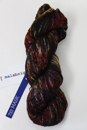 Malabrigo Sock Yarn in Mask (733)