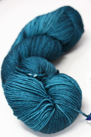 Malabrigo Sock Yarn in  Teal Feather (412)