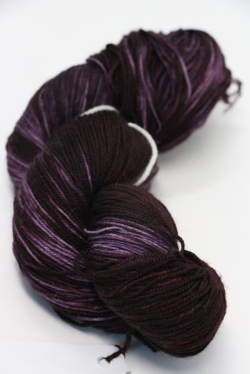 Malabrigo Sock Yarn in  Velvet Grapes (204)