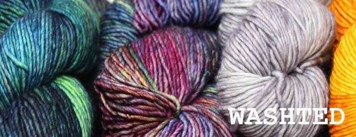 malabrigo WASHTED Single Ply Merino Wool