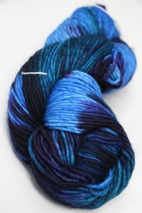 Malabrigo worsted merino in Whales Road 247