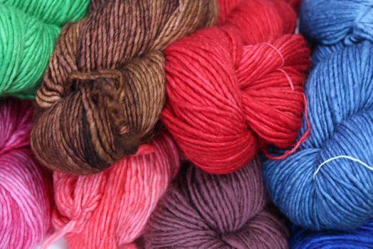One Skein Malabrigo Wool Yarn Color Chesnut
