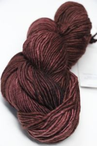 MALABRIGO WORSTED MERINO Yarn Red Mahogany 610