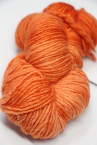 Malabrigo worsted merino in Tiger Lily 152