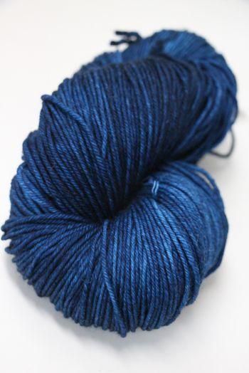 Malabrigo Arroyo Superwash Merino Yarn Azul Profundo (150)