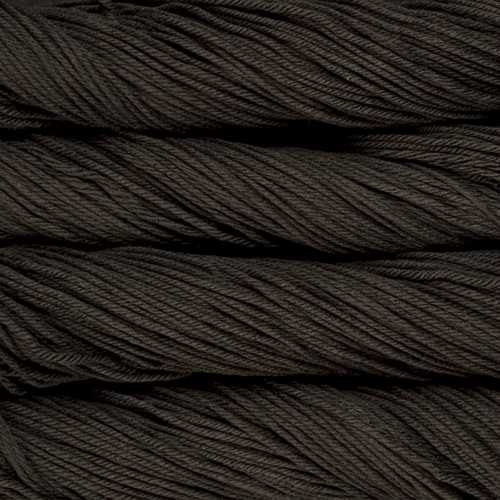 malabrigo Arroyo Bulky Merino Wool knitting yarn in Black