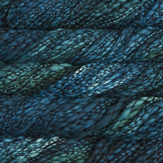Malabrigo Caracol in Teal Feather