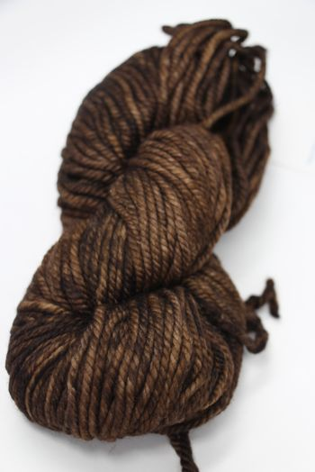 Malabrigo Chunky Yarn in  DARK EARTH