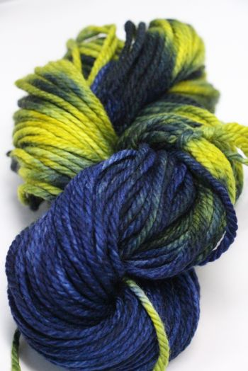 Malabrigo Chunky Yarn in  LIME BLUE