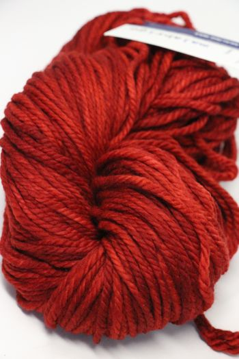Malabrigo Chunky Yarn in  SEALING WAX