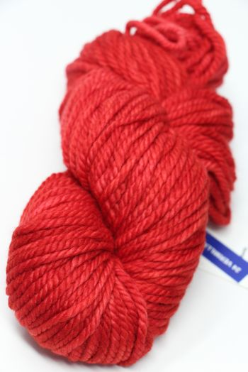 Malabrigo Chunky Yarn in  VERMILLION
