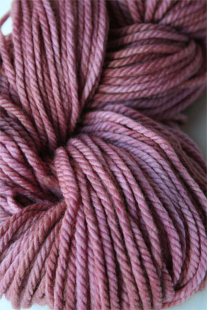 malabrigo chunky yarn in 130 Damask