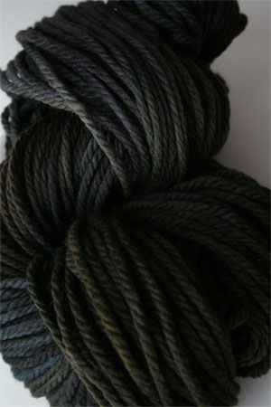 malabrigo chunky yarn in 179 Black Forest