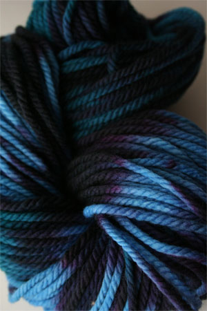 malabrigo chunky yarn in 247 Whales Road