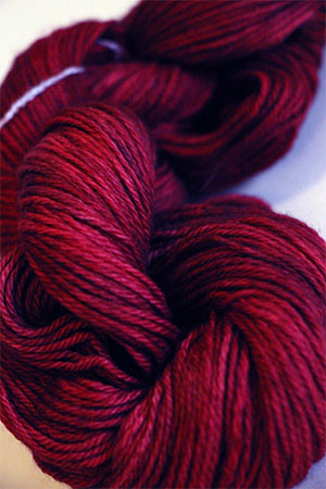 Malabrigo Finito Ultrafine Merino Wool Fingering Weight Yarn in 033 Cereza