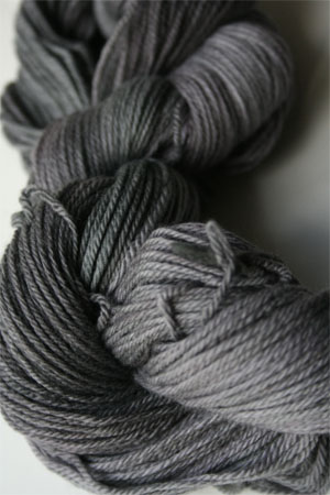 Malabrigo Finito Ultrafine Merino Wool Fingering Weight Yarn in 043 Plomo