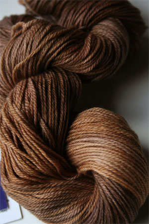 Malabrigo Finito Ultrafine Merino Wool Fingering Weight Yarn in 047 Coffee Toffee