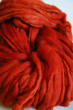 Malabrigo Gruesa Wool Yarn | Glazed Carrot