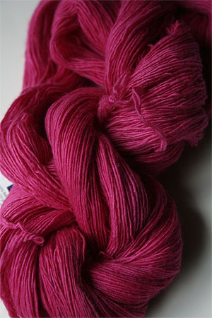 Malabrigo Lace yarn in 093 Fuschia