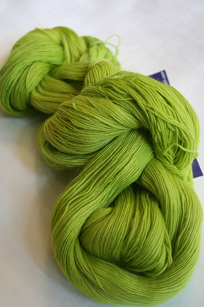 MALABRIGO MERINO LACE 011 Apple Green