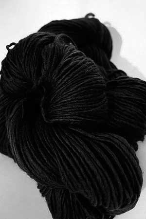 Malabrigo Merino Wool Yarn 195 Black