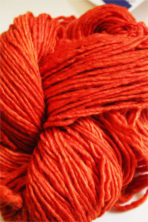 Malabrigo Worsted Merino Wool Yarn 016 Glazed Carrot