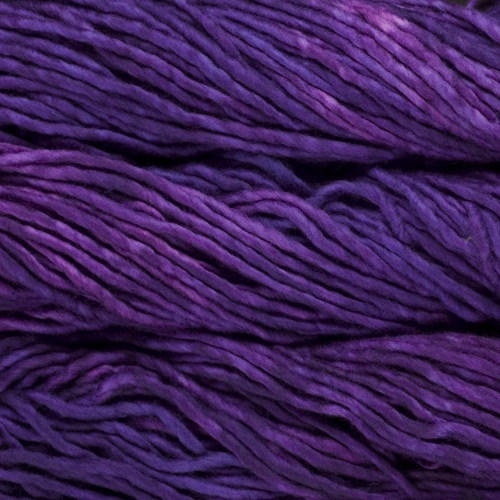 malabrigo Rasta Bulky Merino Wool knitting yarn in Purple Mystery