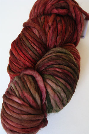 malabrigo Rasta Bulky Merino Wool knitting yarn in Oxido