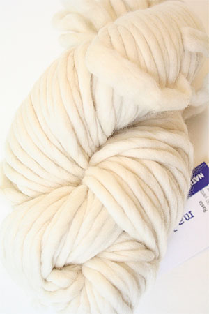 malabrigo Rasta Bulky Merino Wool knitting yarn in Natural White