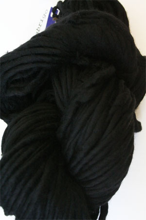 malabrigo Rasta Bulky Merino Wool knitting yarn in Black