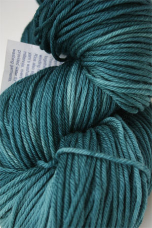 Malabrigo Rios Teal Feather worsted Weight Superwash Merino Wool yarn