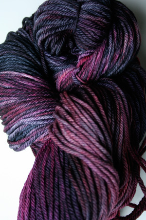 Malabrigo Rios Purpuras worsted Weight Superwash Merino Wool yarn