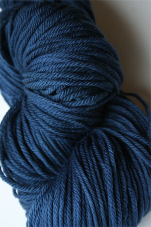 Malabrigo Rios Azul Profundo worsted Weight Superwash Merino Wool yarn