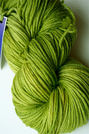 Malabrigo Rios Lettuce worsted Weight Superwash Merino Wool yarn