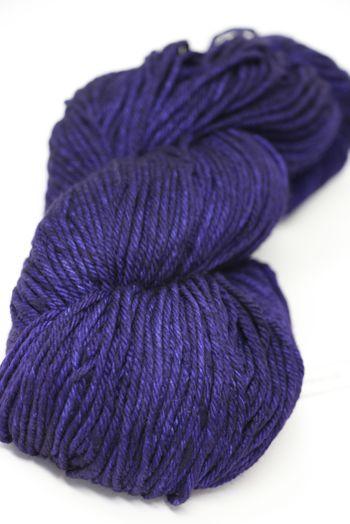 Malabrigo Rios Superwash worsted in Purple Mystery