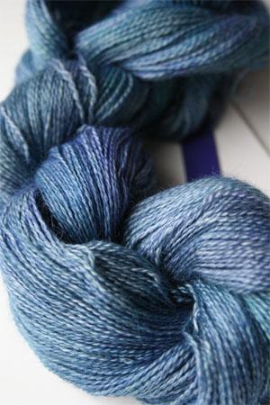 MALABRIGO SILKPACA Yarn 856 Azules