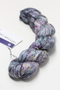 MALABRIGO SILKPACA Yarn Double Bass (729)