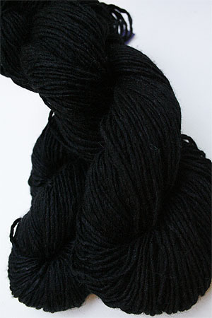 Malabrigo Silky Merino yarn in Black