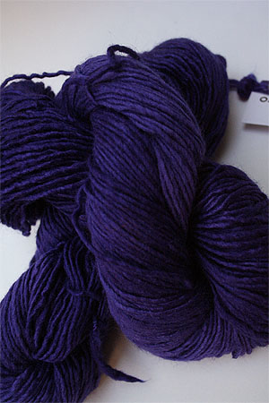 Malabrigo Silky Merino yarn in Purple Mystery
