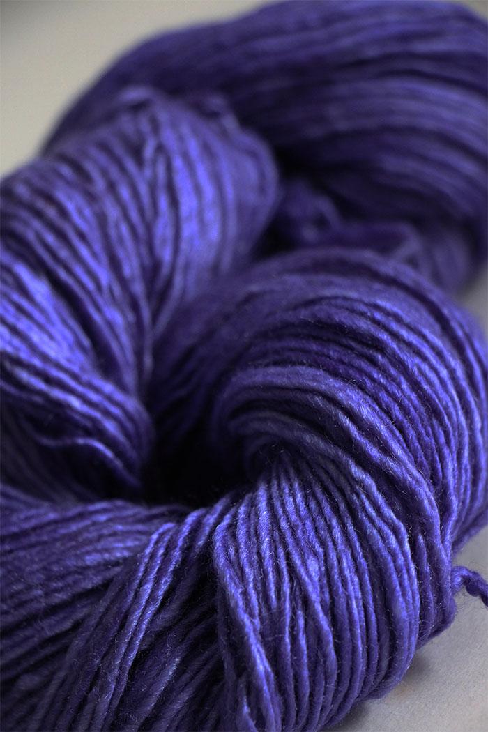Malabrigo Silky Merino Knitting Yarn In Light Hyacynt