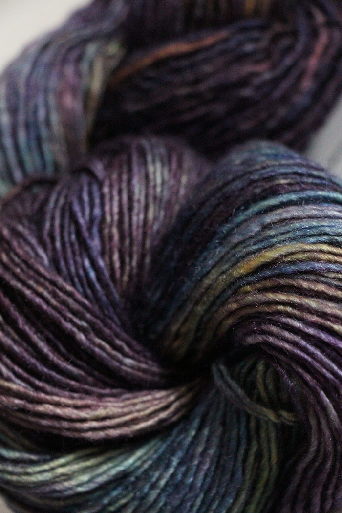 Malabrigo Silky Merino Knitting Yarn In Candombe