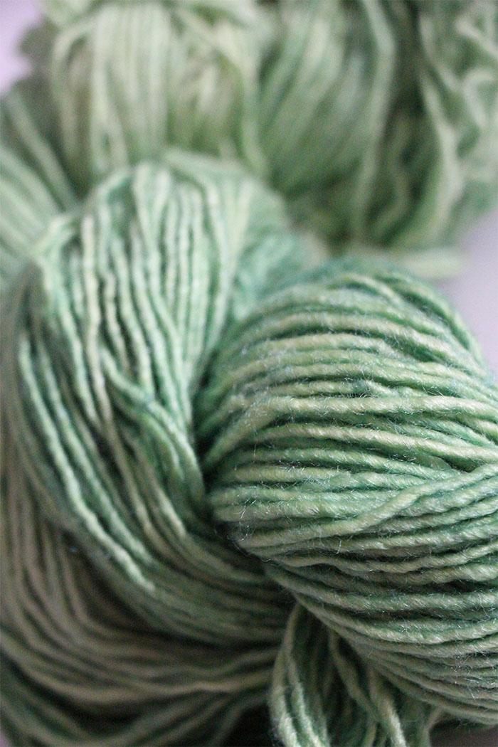 Malabrigo Silky Merino Knitting Yarn In Spring Water